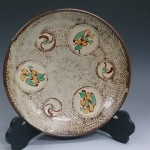 人間国宝 飾り皿