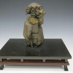 翁 銅 彫金