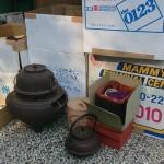 世田谷区等々力のお客様より茶道具や鉄瓶、中国の鼻煙壷などを買取りさせて頂きました。