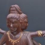 中野区中野にて松久宗琳の仏像(ブロンズ、阿修羅像)をお譲り頂きました。