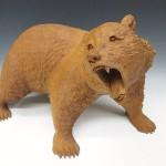 彫刻 クマ 北海道