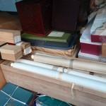 荒川区西日暮里のお客様より掛け軸や茶道具などを買い受け致しました。
