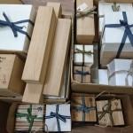 中野区江原町にて茶道具、掛け軸、古い五月人形(五月飾)などをお譲り頂きました。