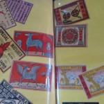 川越市にてコレクターの方から戦前の煙草ラベル、マッチラベル、絵葉書、古銭などを買い取りさせて頂きました。
