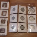 一分銀、一朱銀、一円銀貨