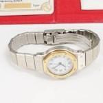 金ベゼル 腕時計