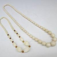 象牙数珠 ネックレス