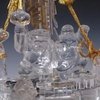 天然水晶 宝船