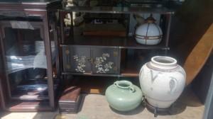 硯箱 壷 中国