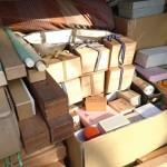 三鷹市新川のお客様よりご遺品の茶道具、中村不折の掛軸などをお売り頂きました。