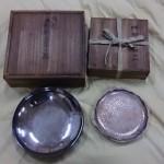 純銀 菓子器 銘々皿
