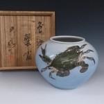 宮川香山 壷 花瓶