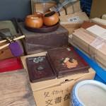 小金井市前原町のお客様より茶道具、掛軸、根付などを買取りさせて頂きました。