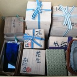 埼玉県さいたま市のお客様より硯、花瓶、煎茶器、置物、油絵などを買い取りさせて頂きました。