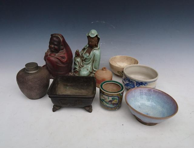 茶入 茶碗 仏像