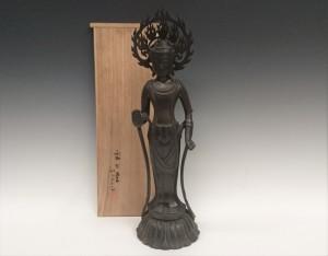 鉄瓶 仏像