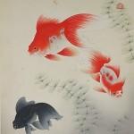 調布市仙川町にて大野麦風の版画や珊瑚の指輪、茶道具などをお売り頂きました。