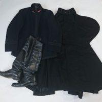 海軍制服上衣 外套 軍靴 ブーツ