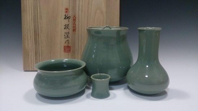 柳海剛 茶道具