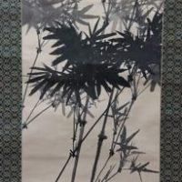 松林桂月 水墨画
